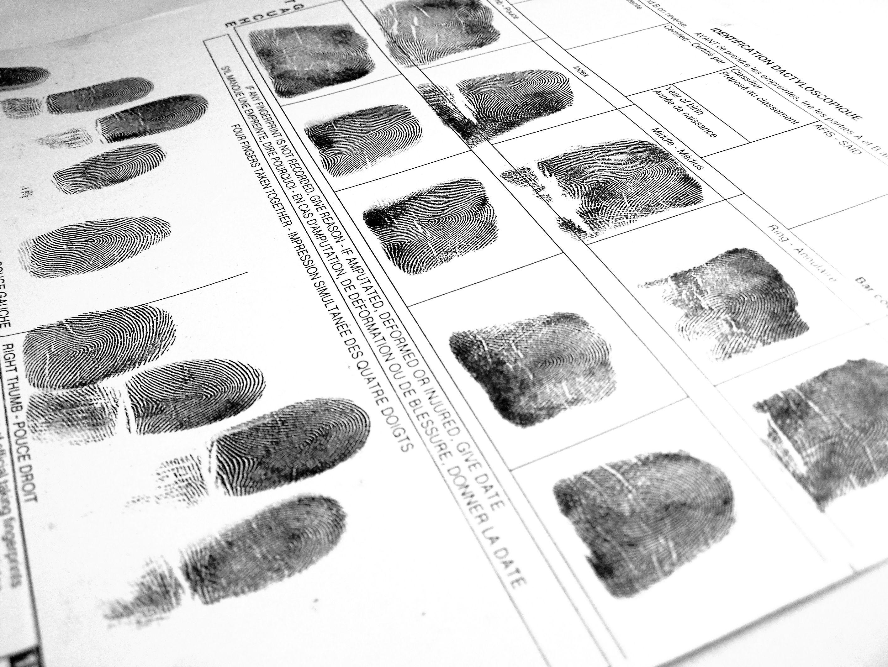 Reliability Screening and Fingerprints: What You Need To Know